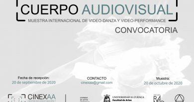 CONVOCATORIA ABIERTA…!!!….CUERPO AUDIOVISUAL_Muestra internacional de video-danza y video-performance
